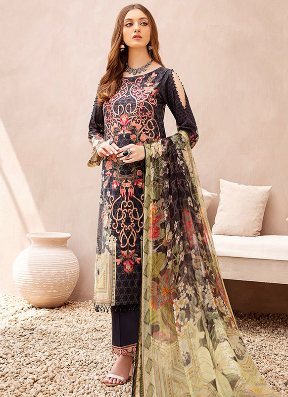 Dial N Fashion Black Designer Pakistani Style Salwar Suit
