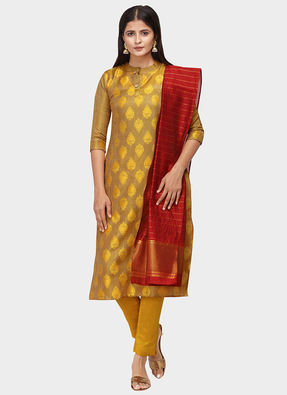 Dial N Fashion Yellow Latest Designer Party Wear Salwar Suit