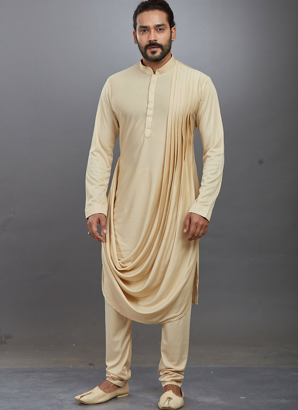 Dial N Fashion Gold Readymade Kurta Pajama