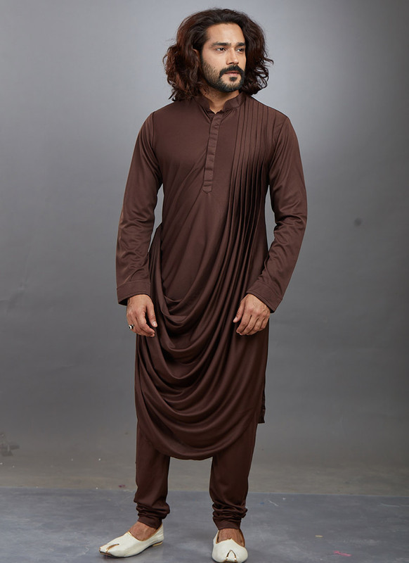 Dial N Fashion Coffee Readymade Kurta Pajama