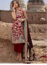 Dial N Fashion Peach Designer Party Wear Pakistani Style Salwar Suit