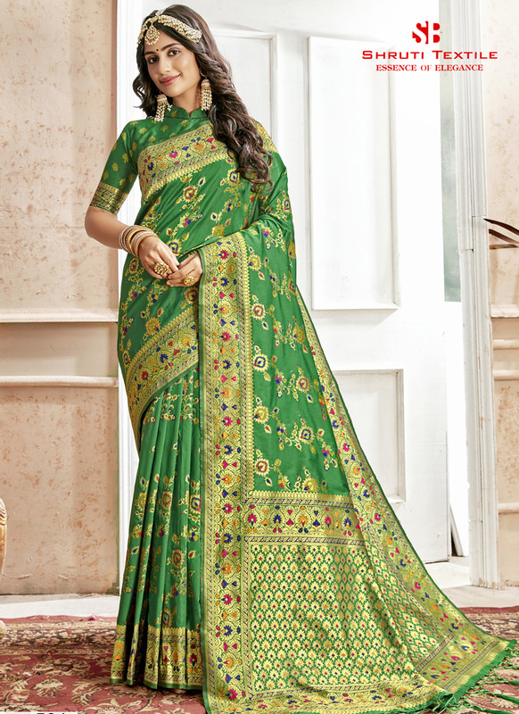Dial N Fashion Shruti Shubharambh Graceful Wedding Saree