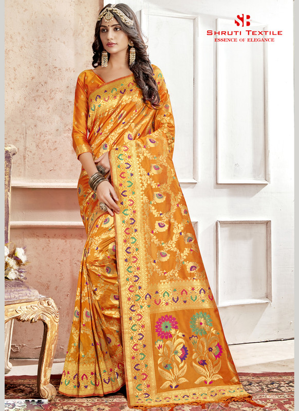 Dial N Fashion Shruti Shubharambh Beauteous Wedding Saree