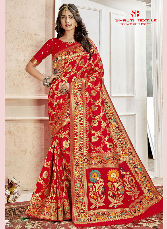 Dial N Fashion Shruti Shubharambh Beautiful Wedding Saree