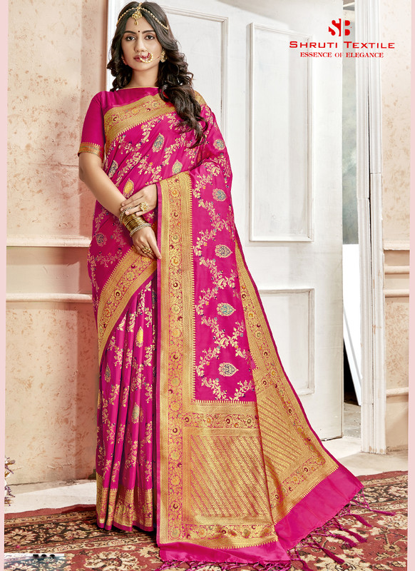 Dial N Fashion Shruti Shubharambh Stunning Wedding Saree