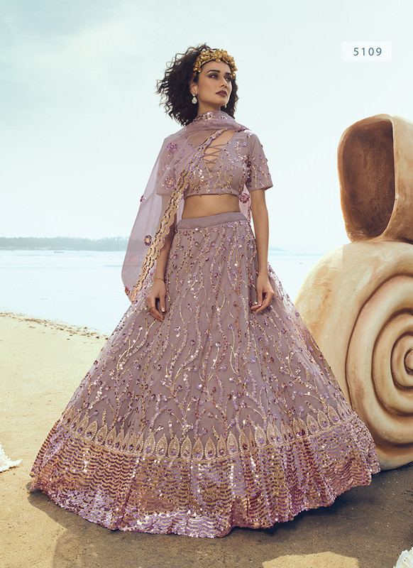 Arya Dial N Fashion Cinderella Charming Bridal Wedding Wear Lehenga Choli