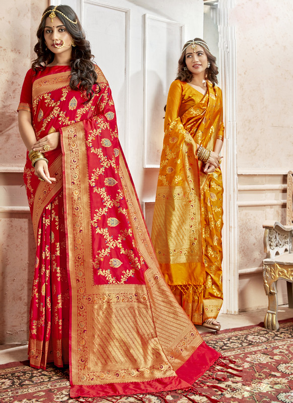 Dial N Fashion Shruti Shubharambh Ravishing Wedding Saree