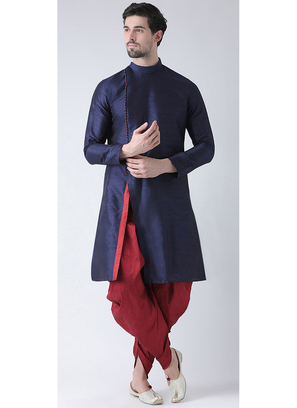 Dial N Fashion Navy Blue  Readymade Dhoti Kurta