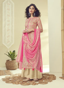 Dial N Fashion Green Latest Designer Pure Zam Cotton Salwar Suit