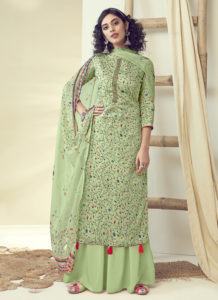 Dial N Fashion Multi Color Latest Designer Pure Zam Cotton Salwar Suit