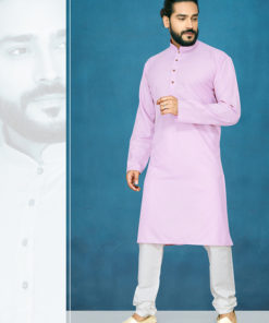 Dial N Fashion Purple Readymade Kurta Payjama