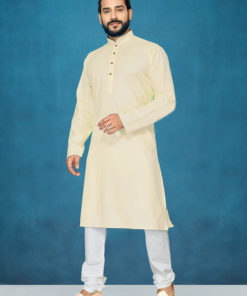 Dial N Fashion Cream Readymade Kurta Payjama
