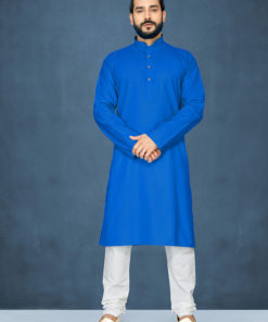 Dial N Fashion Blue Readymade Kurta Payjama