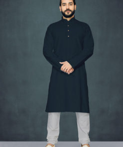 Dial N Fashion Black Readymade Kurta Payjama