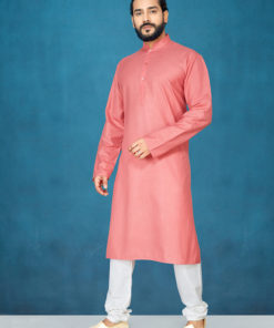 Dial N Fashion Peach Readymade Kurta Payjama