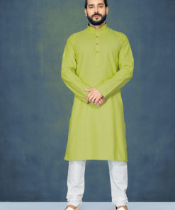 Dial N Fashion Green Readymade Kurta Payjama