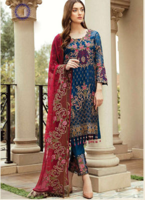 Dial N Fashion   Designer Party Wear Suits