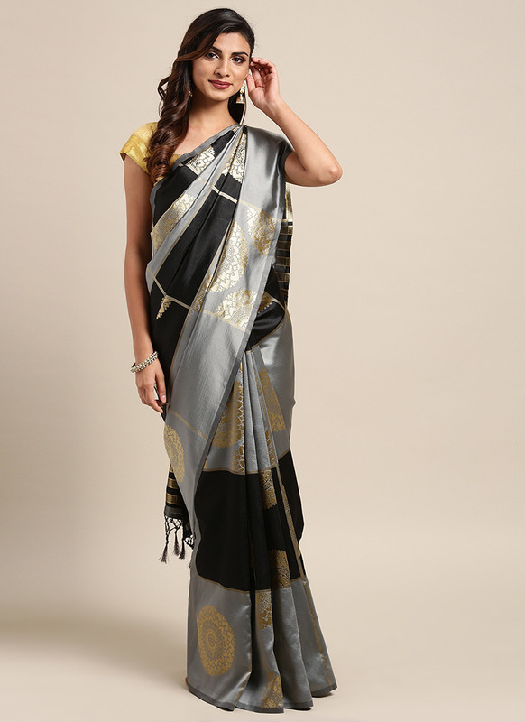 Dial N Fashion Black  Designer Classic Party Wear Saree