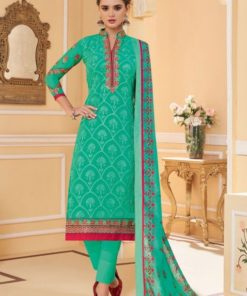 Dial N Fashion Green  Fancy Designer Party Wear Salwar Kameez Suit