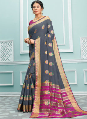 Dial N Fashion Sangam Palak Graceful Wedding Saree