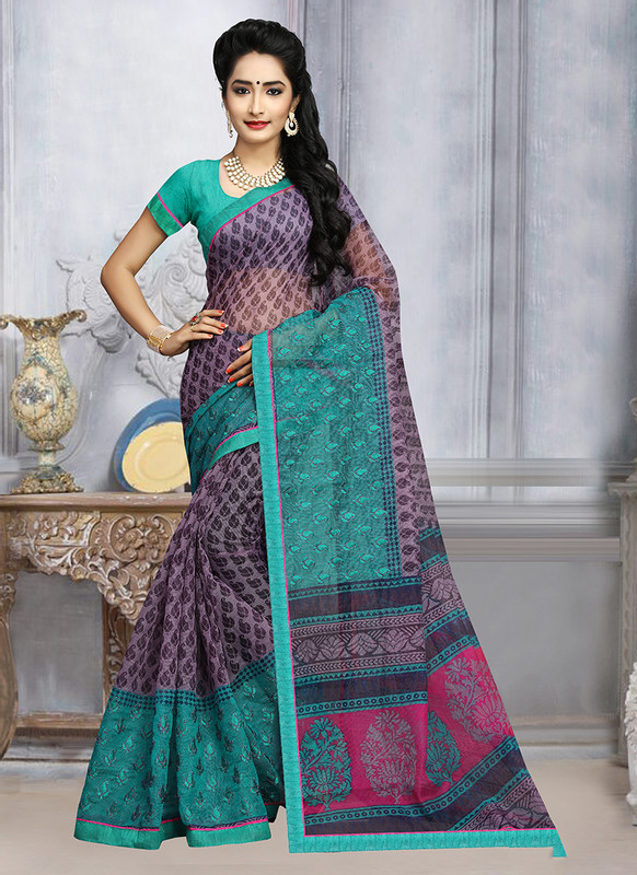 Dial N Fashion Sangam Sunehari Kota Stunning Casual Wear Saree