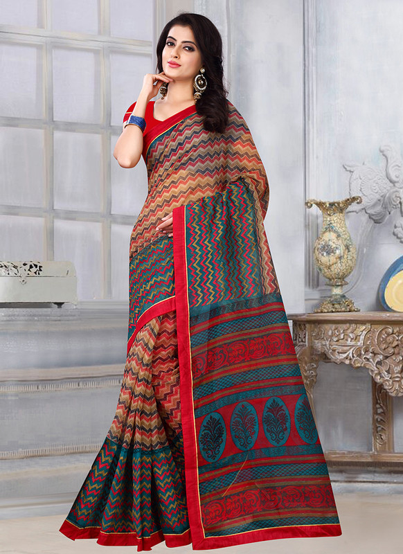 Dial N Fashion Sangam Sunehari Kota Ravishing Casual Wear Saree