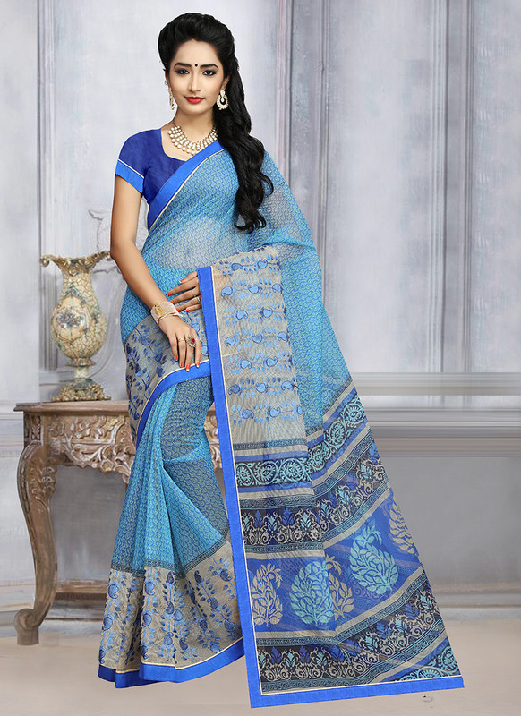 Dial N Fashion Sangam Sunehari Kota Smashing Casual Wear Saree