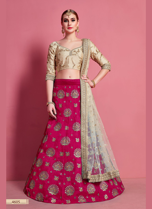 Sareetag Arya Designs Rani Lovely Party Wear Lehenga Choli