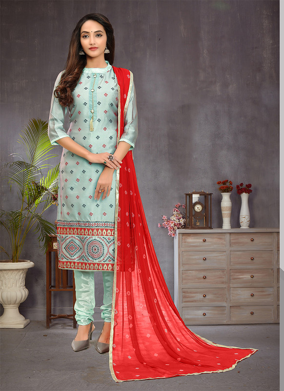 Sareetag Festival Wear Churidar Salwar Suit