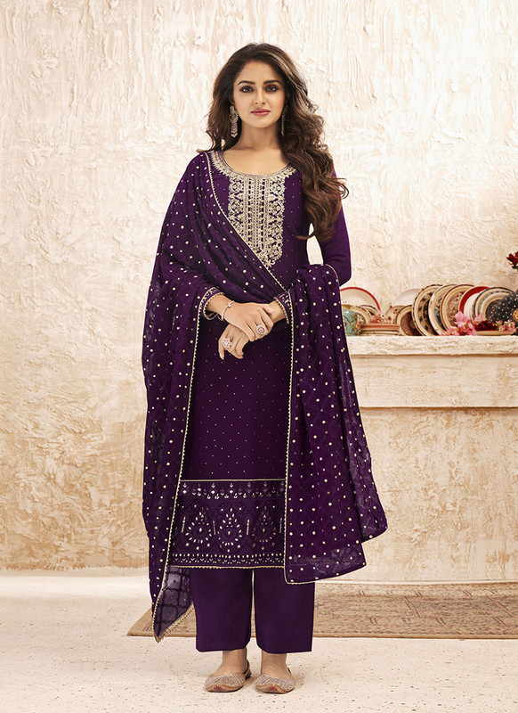 Designer Party Wear Real Georgette Salwar Suit